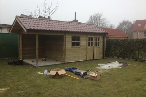 Tuinhuis op maat - JD Houtconstruct
